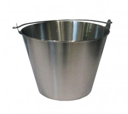 Ortoimport cubeta de acero inoxidable for Cubetas de acero inoxidable